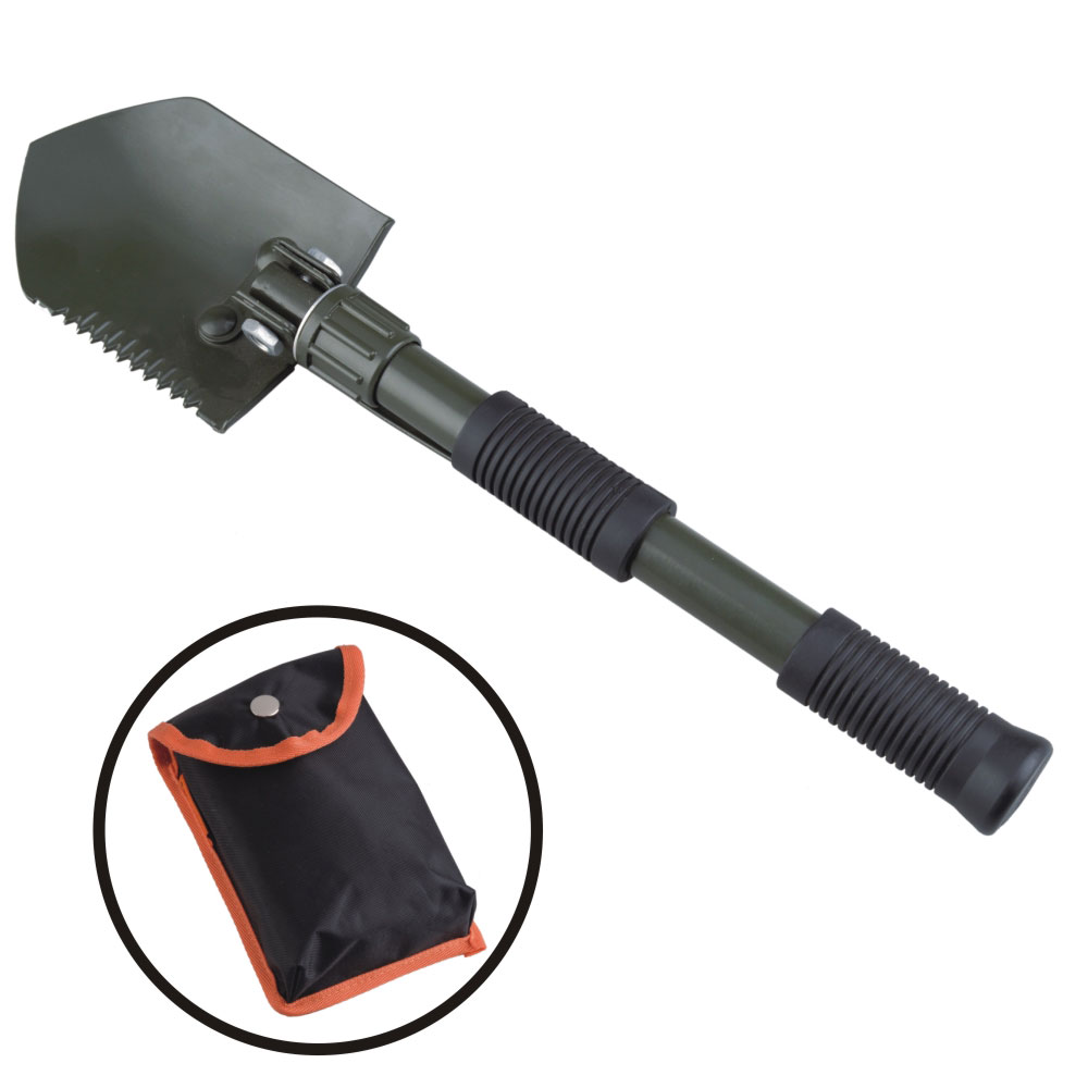 ACE CAMP LOPATA FOLDING SHOVEL WITH PICK