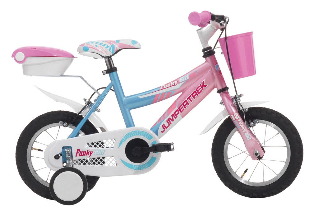 "JUMPERTREK 12"" FUNKY GIRL PINK/WHITE"