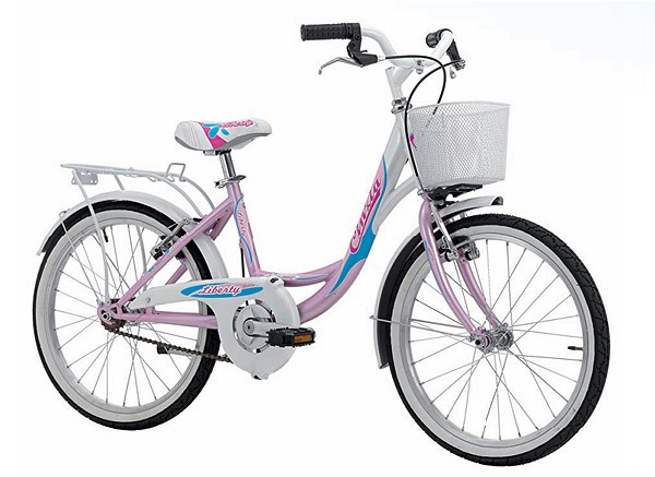 "CINZIA 20"" LIBERTY CITY GIRL PEARL LIGHT BLUE/WHITE"