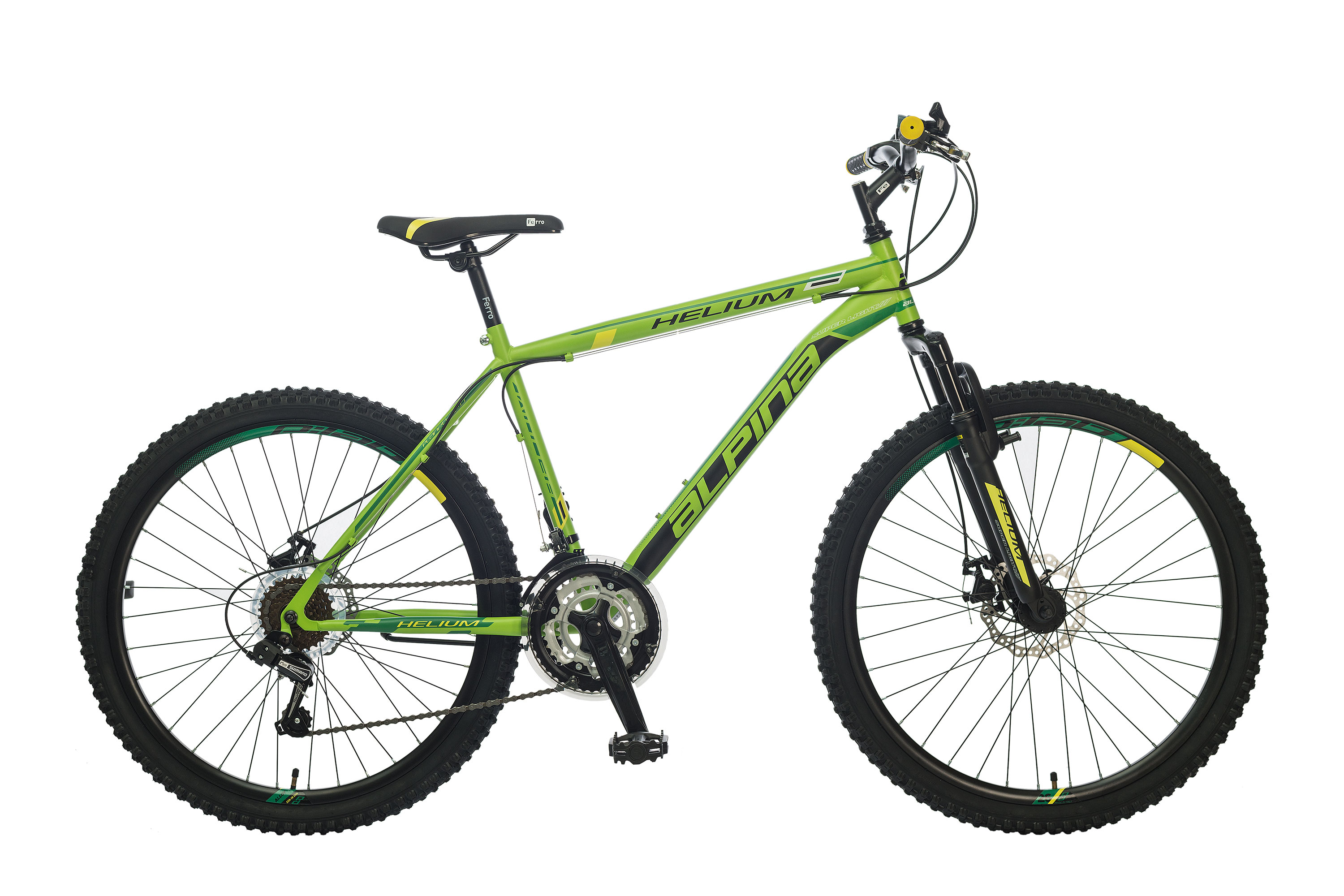"POLAR ALPINA HELIUM DISC 26"" GREEN"