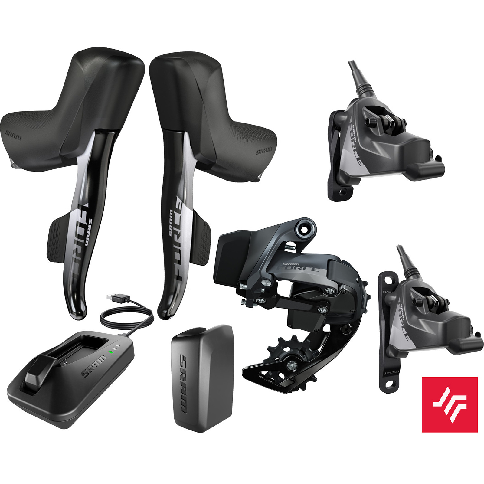 GRUPA SRAM FORCE ETAP AXS 1X HRD FM UPGRADE