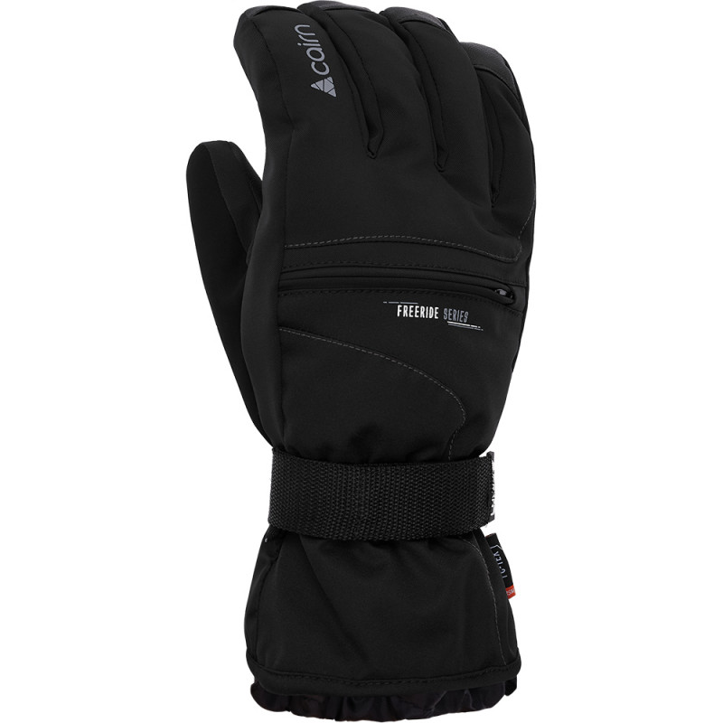 SKI RUKAVICE CAIRN DANA 2 M C-TEX BLACK GREY