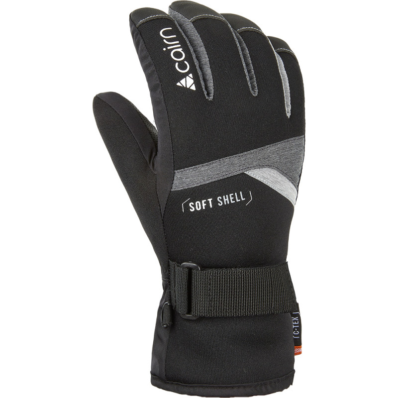 SKI RUKAVICE CAIRN STYL J C-TEX DARK GREY CHINE