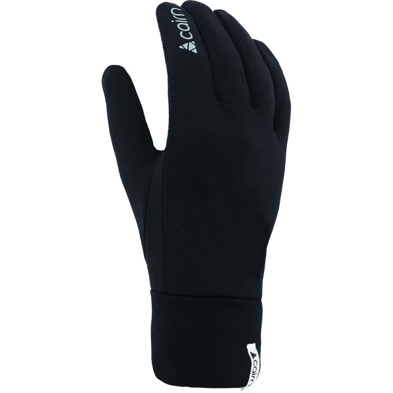 RUKAVICE CAIRN MERINO TOUCH BLACK