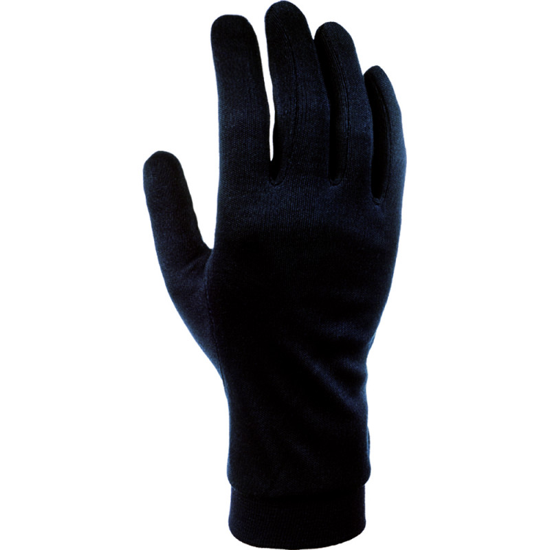 PODRUKAVICE CAIRN SILK GLOVES JUNIOR BLACK