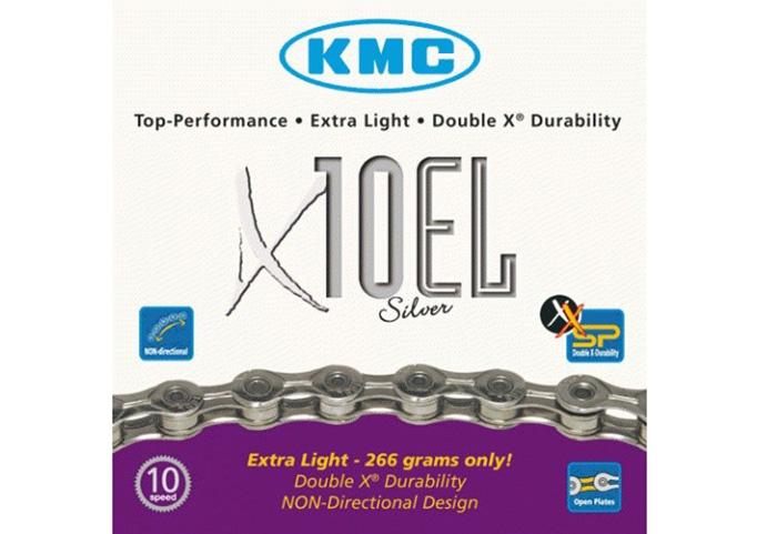 Lanac KMC X10 EL 1/2X11/128 114L 10B