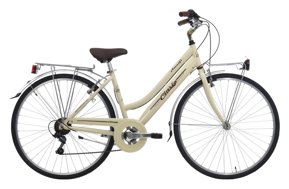 "CINZIA 28"" ITALIA AMALFI LADY 6B V-BRAKE CREAM"