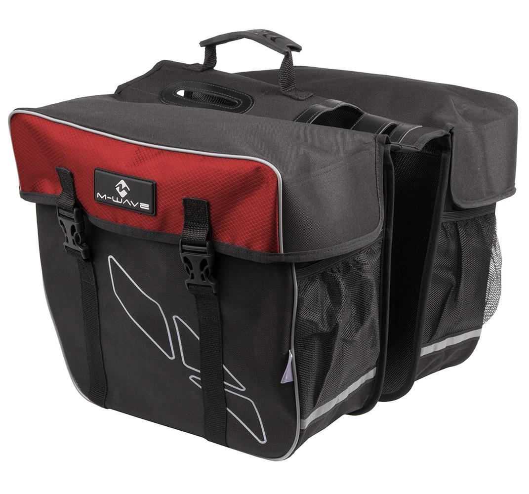 BISAGE M-WAVE AMSTERDAM REFLEX 30L BLACK/RED MS 122803