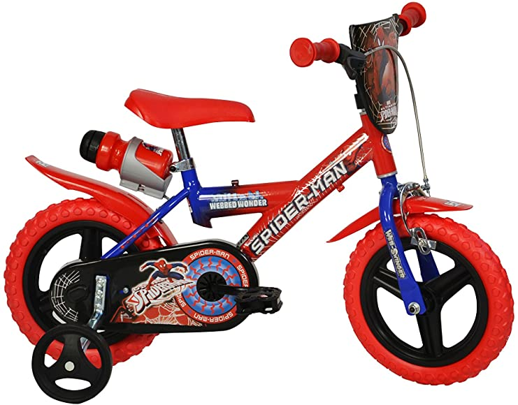 "DINO BIKES 12"" SPIDERMAN"