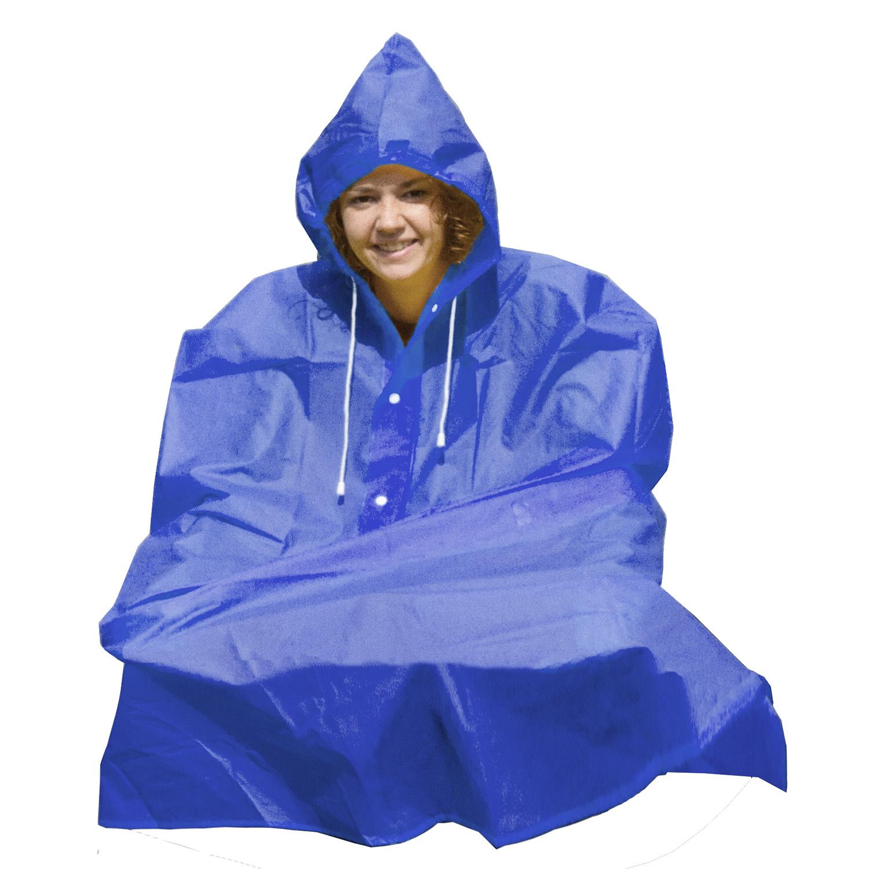 KABANICA PONCHO BLUE MS 715153