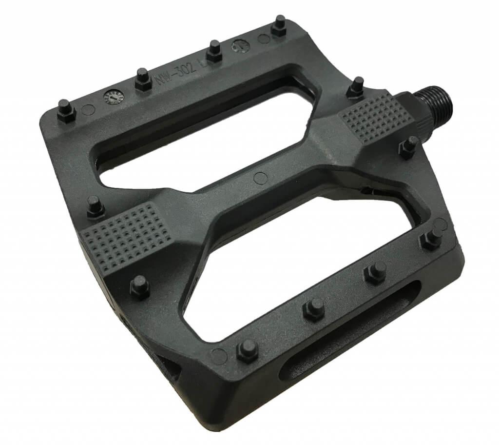 PEDALE FPD NWL-302 Black Alloy body/Boron axle 107x112x24