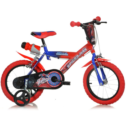 "DINO BIKES 14"" SPIDERMAN"