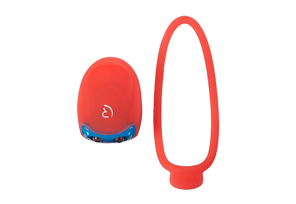 Bljeskalica prednja RFR 2LED Clip Red/Blue