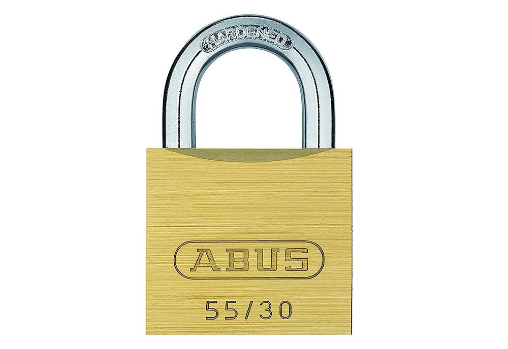 Lokot brass padlock 55/30 ABUS 02854-0