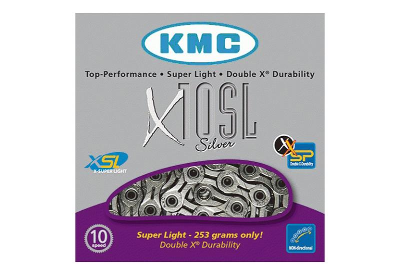 Lanac KMC X10 SL 1/2X11/128 114ČL. 10B silver