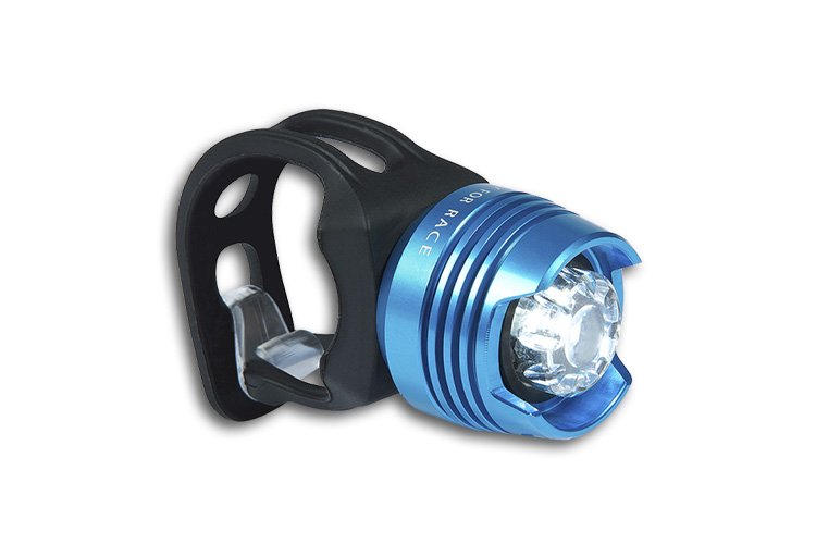 Lampa prednja Cube RFR DIAMOND plava