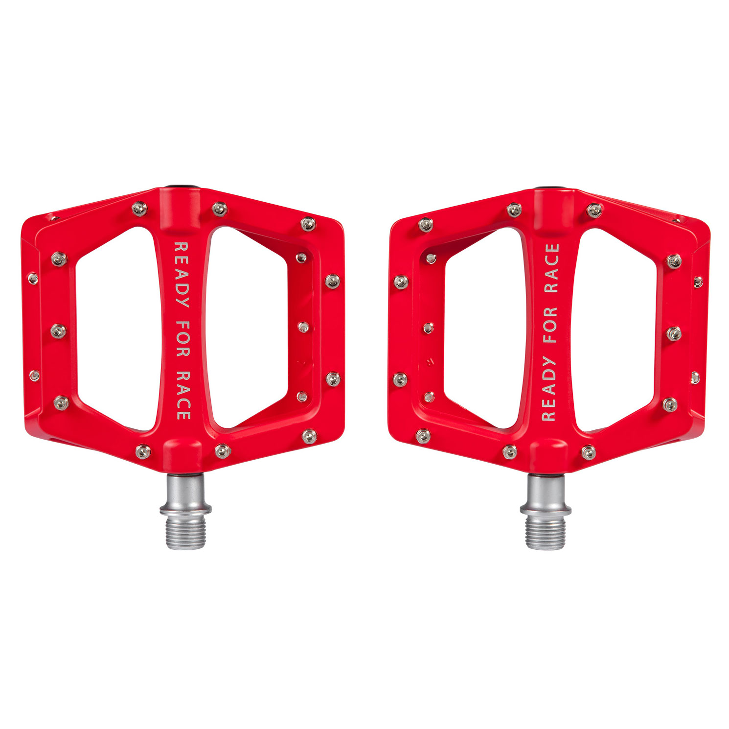 Pedale RFR FLAT RACE Red 14146