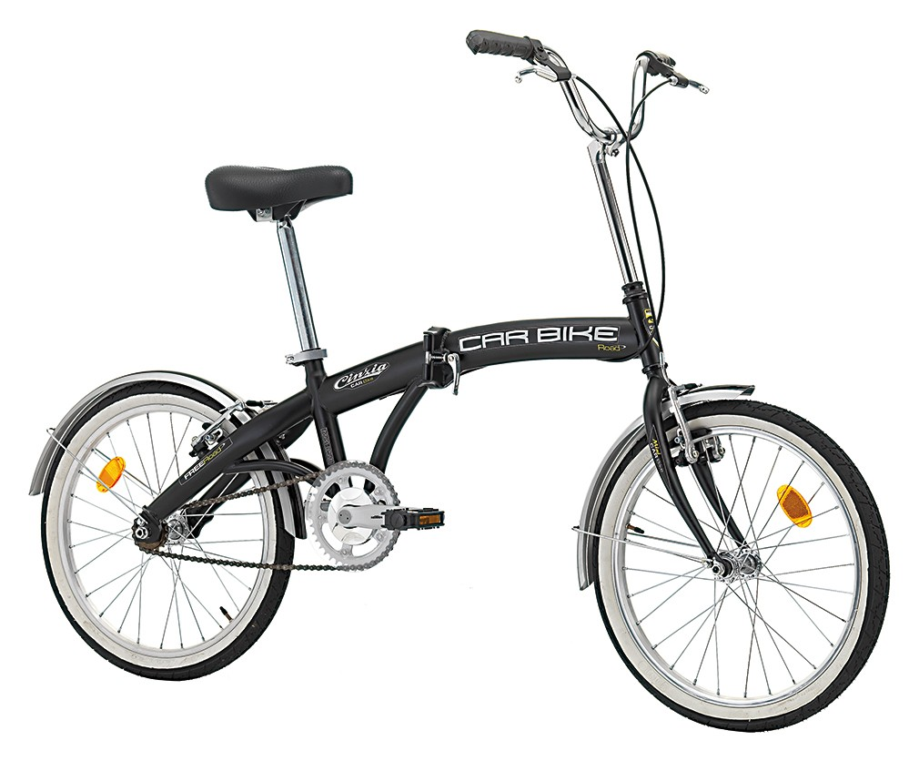 "Cinzia 20"" CARBIKE Black"
