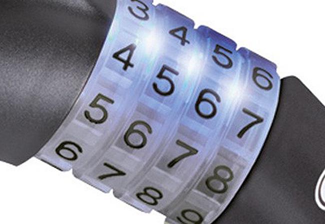 Lokot na šifru Abus RAYDO 12x185mm