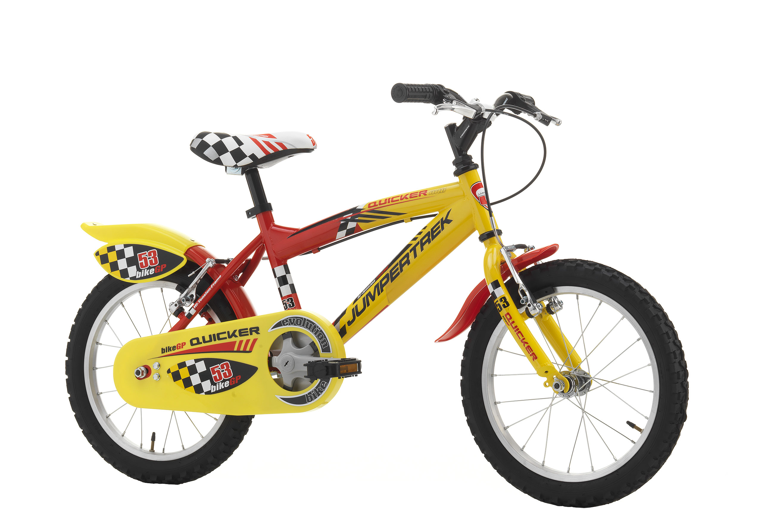"""Jumpertrek QUICKER Boy 16"""" Red - Yellow"""