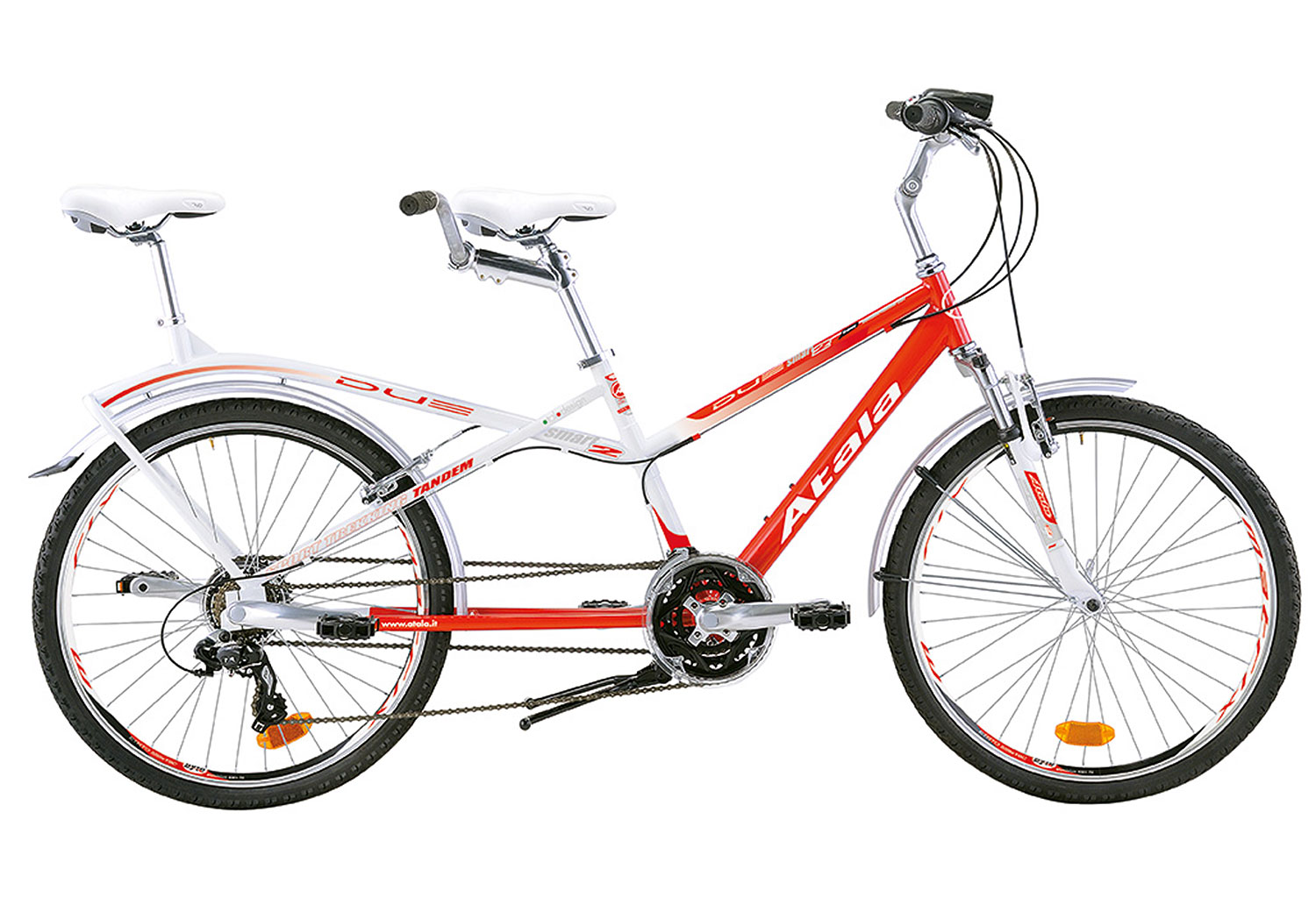 Atala DUE Smart White - Red 2015