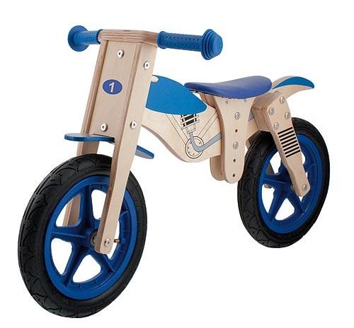 Guralica za djecu drvena MOTORCYCLE, Dječaci, 2-5