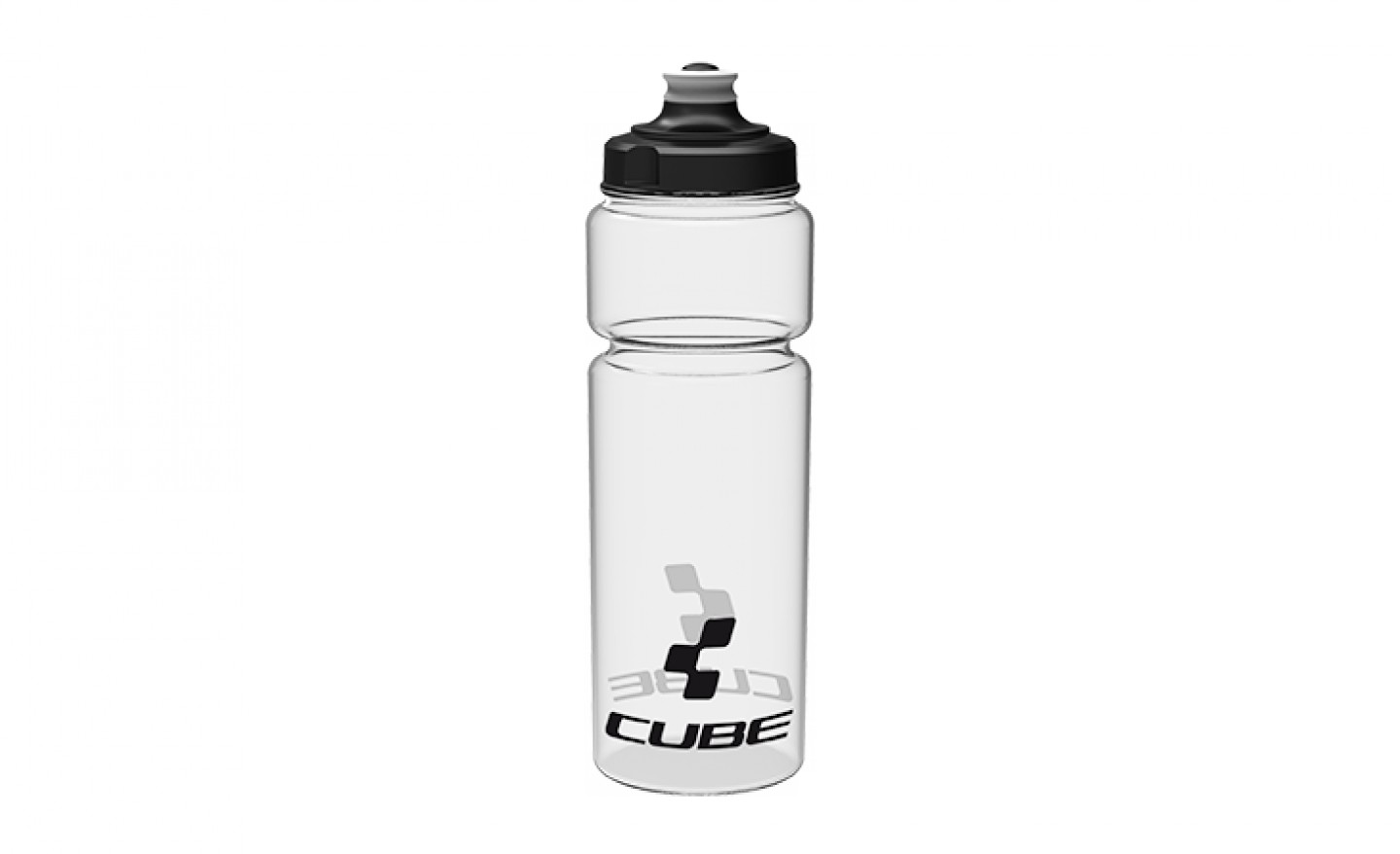 Bidon Cube Icon Transparent 750ml