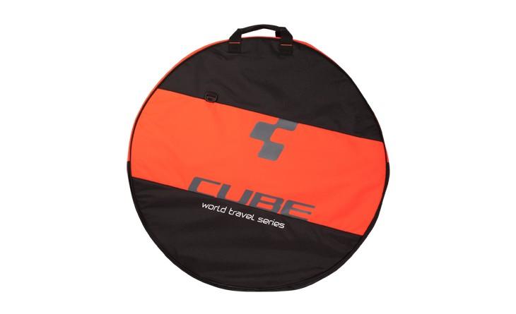 """Torba Cube za kotače 2 26-29"""" black/neon flashred 12036"""