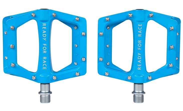 Pedale RFR Flat Race blue