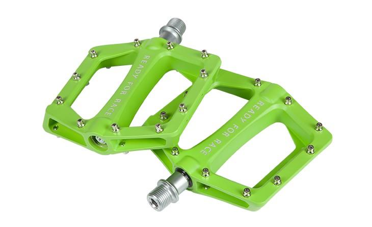 Pedale RFR Flat Race green